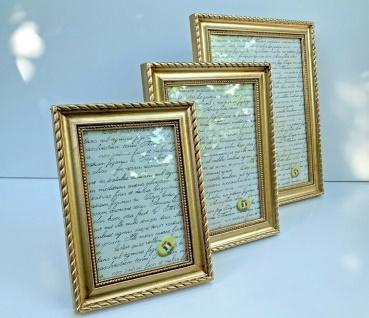 Bilderrahmen Gold Tischdeko 9x13cm10x15cm Tischrahmen Fotorahmen Barock 20x25cm