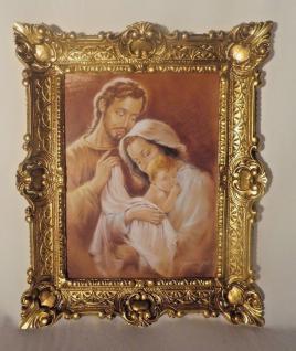 Jesus Geburt Christus Maria Josef religiöse Bilder 56x46 Heiligenbilder Ikonen