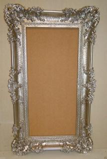 Bilderrahmen Antik Silber 96x57 Spiegelrahmen Gemälderahmen Barock Jugendstil - Vorschau 2