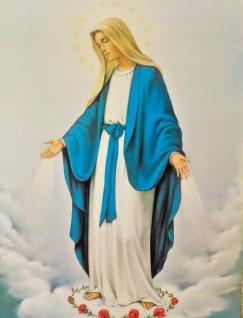 Heilige Bild Maria Religiöse Bilder Ikonen 30x40 Madonnen bild Mutter Gottes