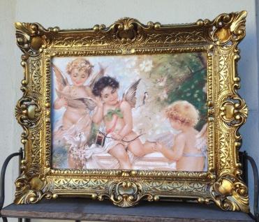 Heiligen Bilder Engelbild Engel 56x46 Schutzengel Kunstdruck Bild Wandbild Eros