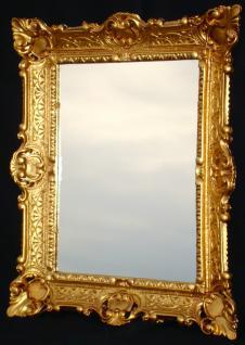Spiegel Antik Wandspiegel Gold Jugendstil Badspiegel Shabby 56x46 Barock