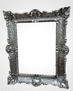 Wandspiegel Barock Antik Silber 56x46 Badspiegel vintage Retro Rokoko Repro NEU