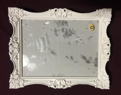 Bilderrahmen Weiß 30x24 Barock Hochzeitsrahmen-Fotorahmen Photoframe C6E Weiß