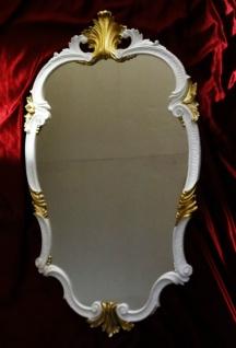 WANDSPIEGEL Barock W- Gold Oval 99x55 Antik Spiegel Barock Friseurspiegel C410