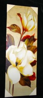 XXLBilder Leinwand Keilrahmen Bild groß Canvas Bilder BLUMEN 40x120 FLOWER