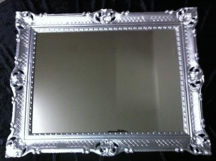 Wandspiegel silber 90x70 Spiegel BAROCK Rechteckig Antik mirror rechteckig NEU - Vorschau 2