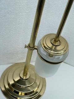 Messing WC Garnitur Badartikel Toilettenbürste Klopapierhalter Ständer 71cm - Vorschau 5