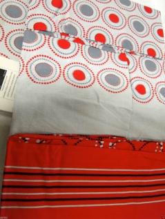 Bettwäsche Garnituren 4 tlg Baumwolle 200x220 Bettbezug 2 X Kissenbezug 50x70cm - Vorschau 3