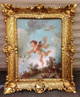 Engels Bild Eros 56x46cm Kunstdruck Bild Wandbild Heiligebilder Engel Baby