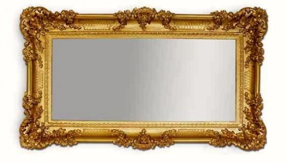 Wandspiegel Barock Gold Spiegel Antik 96x57 Badspiegel groß Wandspiegel Barock