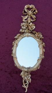Wandspiegel Antik Rund Gold Badspiegel Spiegel 60X24Shabby Deko Spiegel c501