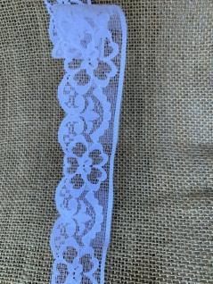 10 Meter Spitzenborte tüllspitze Weiß 4 cm Tüllband Spitze Hochzeitsdeko Angebot - Vorschau 5