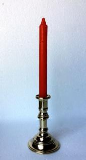 Kerzenständer Messing Höhe 14cm Kerzenleuchter Massiv Gastronomie Tisch
