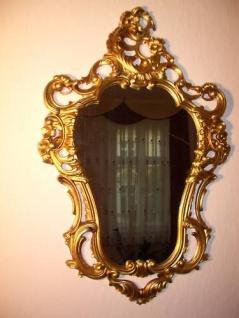 Wandspiegel Barock Oval Flurspiegel75x49 cm Spiegel Antik Repro Oval REG3039-G