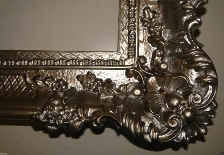 Bilderrahmen Antik Silber 96x57 Spiegelrahmen Gemälderahmen Barock Jugendstil - Vorschau 4