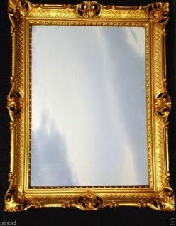 Wandspiegel Barock Gold Antik 90x70cm Repro Retro Spiegel Barock Badspiegel