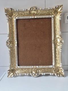 Italienischer Rahmen Gold-Weiß Bilderrahmen Barock 57x47 Antik Fotorahmen Neu - Vorschau 4