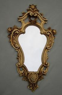 Wandspiegel Barock Antik Gold Shabby Rokoko Badspiegel Flurspiegel 57X32 COGSP-G