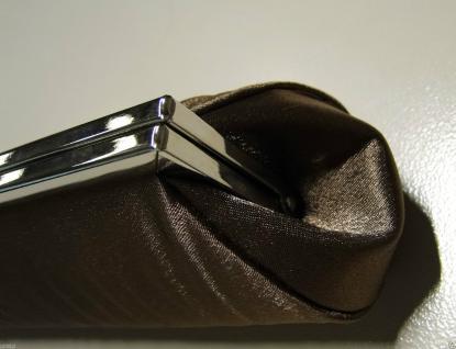 Damentasche ABENDTASCHE braun Handtasche FÜR ANLÄSSE CLUTCH Schultertasche