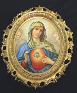 Madonna Bild Religiösen Heiligenbilder Gemälde Heilige Maria Mutter Gottes