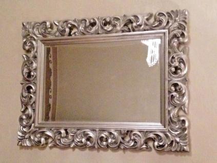 Wandspiegel Antik Silber 120 x 90 CM Barock Friseurspiegel Spiegel Ornamente - Vorschau 4
