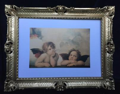 Engelbild 90x70 Schutzengel Raphael Bild Heilige Bild Raffaels Engel WandBild