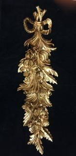 Wanddeko Barock Wandbehang Gold Deko 60x18cm Wandrelief Deko Antik C 1503