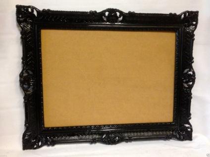 Bilderrahmen Schwarz Barock Hochzeitsrahmen Antik 90x70 Bilderrahmen 50x70 groß
