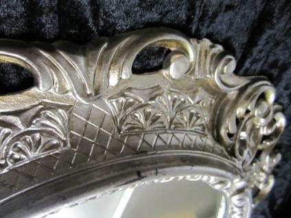 Wandspiegel Spiegel Barock Antik 345 Antiksilber 45x38 Oval 1 - Vorschau 5