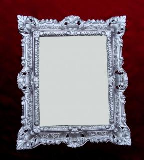 Bilderrahmen Barock Gold Silber Schwarz Weiß 45x38 Foto Rahmen Antik Vintage - Vorschau 4