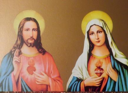 Heilige Bild Jesus Maria Religiöse Bilder Ikonen 30x40 Mutter Gottes Holy