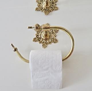 Toilettenpapier-Halter Gold Wc Papierhalter Messing Klopapier Rollenhalter