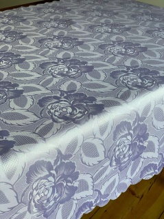 Tischdecke 110x160 Tafeltuch Blumen Tischtuch Eckig Bügelfrei STOFF Pflegeleicht