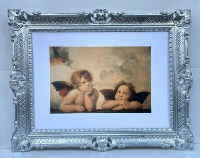Schutzengel Engel Mädchen Wandbild/ Raffael Engels Heilige Bild Bilderrahmen