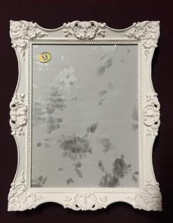 Bilderrahmen Barock Weiß 30x24 Hochzeitsrahmen-Fotorahmen Photoframe C6E Weiß