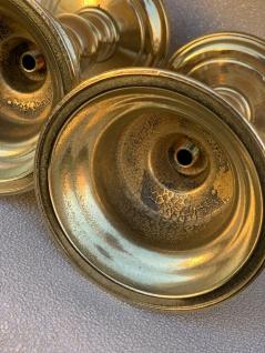 1 x Kerzenhalter Gold Kerzenständer Messing Poliert 15-19cm Kandelaber Leuchter - Vorschau 3