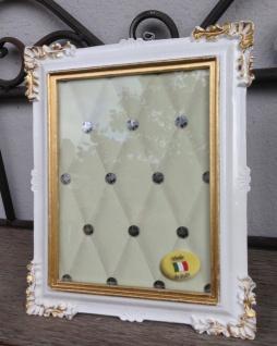 Bilderrahmen Weiß Gold Barock 14x17 Fotorahmen Antik Rahmen Jugendstil Deko