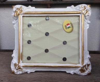 Bilderrahmen Weiß Gold Barock 14x12 Fotorahmen Antik Rahmen Jugendstil Deko - Vorschau 3