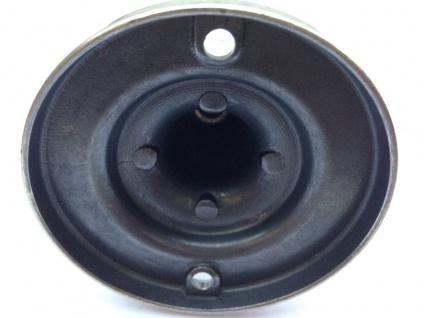 Badablage WC poliertes Messing Silber verchromt Badartikel Glasablage 6x82cm - Vorschau 3