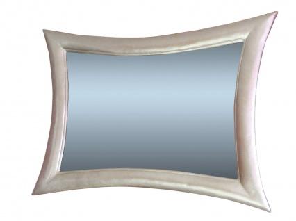 Wandspiegel Spiegel Modern Weiss115x85 Holzrahmen Retro Flurspiegel 023b - Vorschau 1