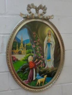 Heilige Religiöse Bilder Maria Lourdes 57x41 Madonna Jesus Christus Ikonen Bild - Vorschau 5