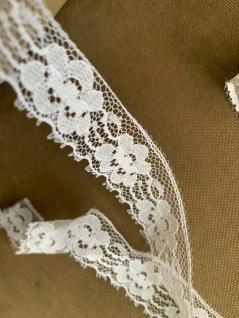 10 Meter Spitzenborte tüllspitze Weiß 25mm Tüllband Spitze Hochzeitsdeko Angebot - Vorschau 3