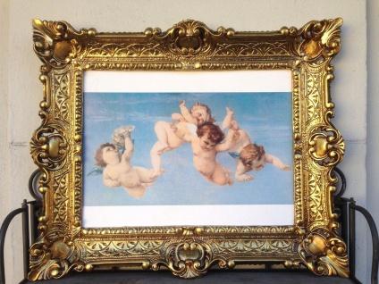 Heilige Engelbild Engel 56x46 Heilige Kunstdruck Bild Wandbild Engelsbaby - Vorschau 3