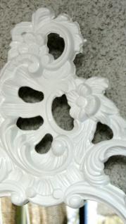 Wandspiegel Weiß ornamente Antik Spiegel Barock Shabby oval Badspiegel 50x76 - Vorschau 5