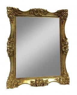 Wandspiegel Badspiegel Barock Antik 30x24 Gold Spiegel