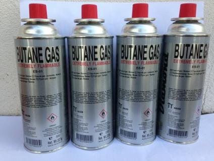 4x Gaskartusche 227g Butan Gas Gasflaschen Bunsenbrenner Gaskocher Campingkocher