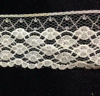 10 Meter Spitzenborte tüllspitze Weiß 35mm Tüllband Spitze Hochzeitsdeko Angebot - Vorschau 2