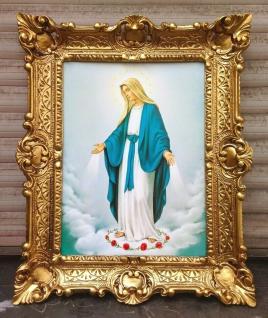 Muttergottes Madonna Heilige Maria 56x46 Kunstdruck Bild Wandbild religiöse Bild