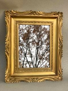 Barock Spiegel Gold Italienische Wandspiegel Antik Rechteckig 33x28 Modern Deko - Vorschau 5
